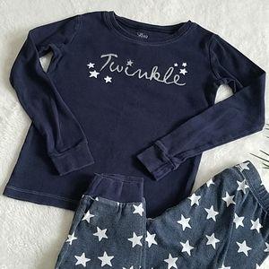 Children's Place size 6X/7 pajama set